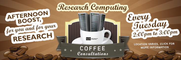 Research Computing Coffee Consultations