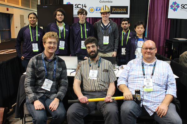 Team at the competition